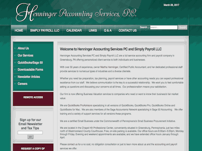 Henninger Accounting Services